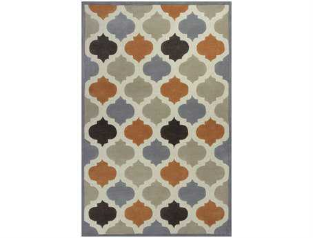 KAS Rugs Eternity Ivory & Spice Arabesque Area Rug KG1068