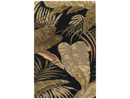KAS Rugs Havana Midnight Rainforest Area Rug KG2616