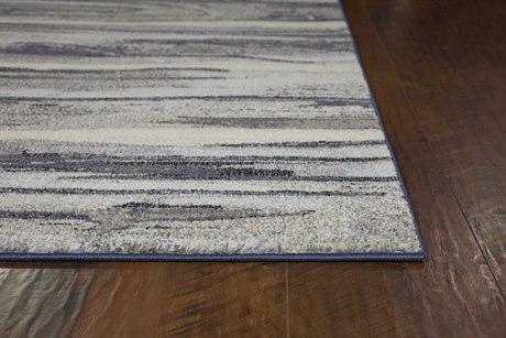 Kas Rugs Illusions Grey Landscape Rectangular Area Rug