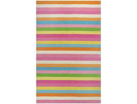 KAS Rugs Kidding Around Chic Stripes Area Rug KG434