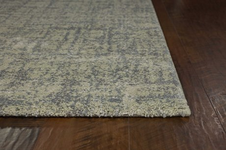 Kas Rugs Landscapes Green & Blue Heather Rectangular Area Rug