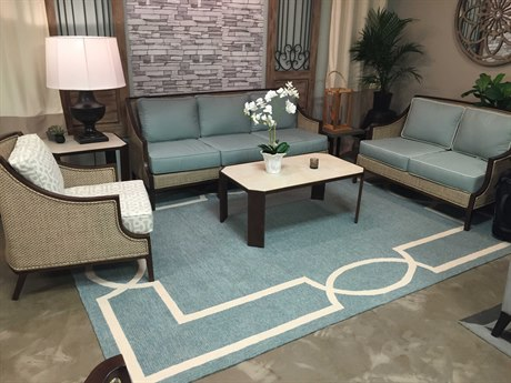KAS Rugs Libby Langdon Hamptons Spa Rectangular Area Rug