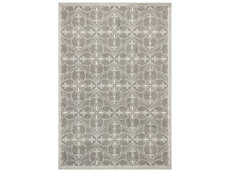 KAS Rugs Lucia Grey Rectangular Area Rug