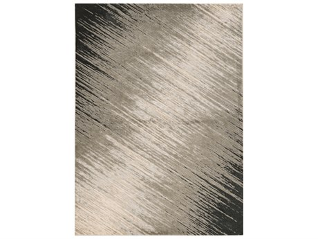 KAS Rugs Luna Silver Grey Rectangular Area Rug