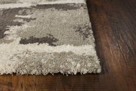 Kas Rugs Madison Taupe & Ivory Dimensions Rectangular Area Rug