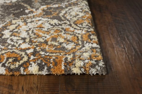 Kas Rugs Madison Taupe & Spice Townhouse Rectangular Area Rug
