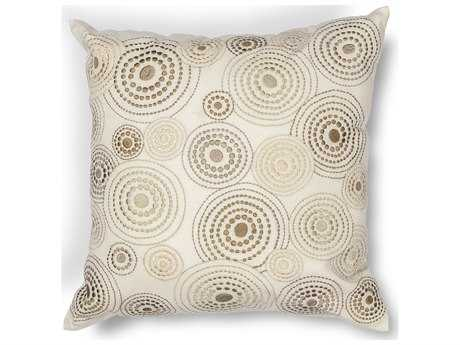 Kas Rugs Ivory Square Pillow KGL186