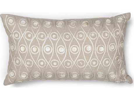Kas Rugs Taupe Rectangular Pillow KGL224