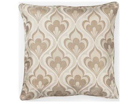 Kas Rugs Beige Square Pillow