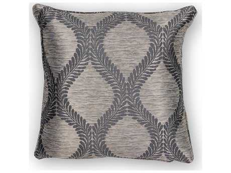 Kas Rugs Grey Square Pillow KGL241