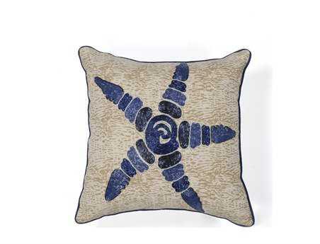 KAS Rugs Starfish Elegance Square Pillow
