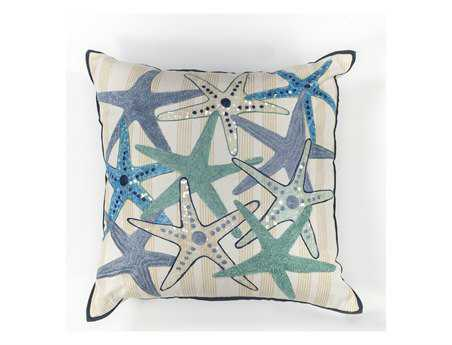 KAS Rugs Starfish Gala Square Pillow KGL110
