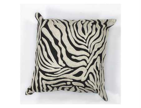 KAS Rugs Zebra Oasis Square Pillow KGL119