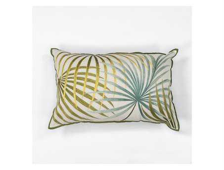 KAS Rugs Palms Rectangular Pillow