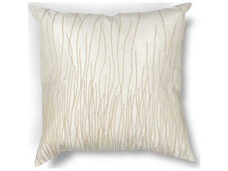 Kas Rugs Ivory Square Pillow KGL188