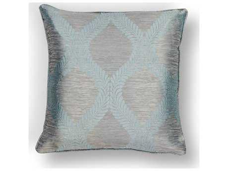 Kas Rugs Blue & Grey Square Pillow KGL240