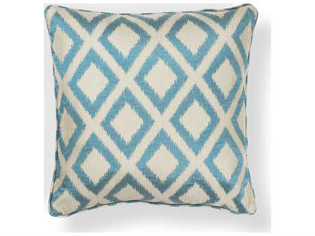 Kas Rugs Turquoise Square Pillow KGL242