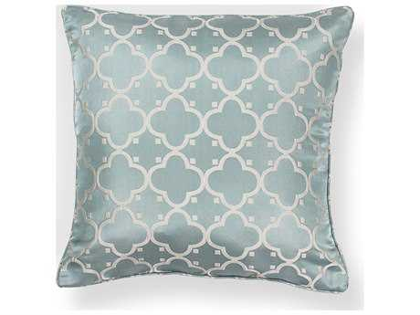Kas Rugs Light Blue Square Pillow KGL251