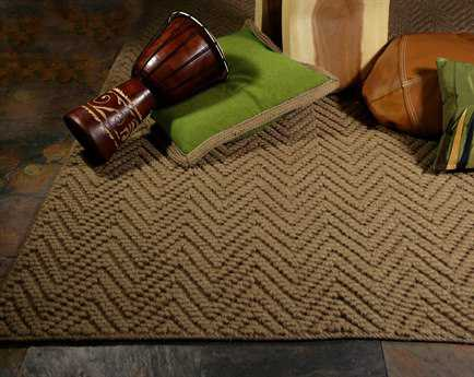 KAS Rugs Porto Natural Herringbone Area Rug KG1221