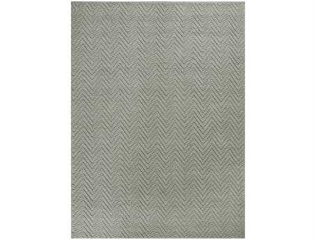 KAS Rugs Porto Grey Heather Herringbone Area Rug KG1224