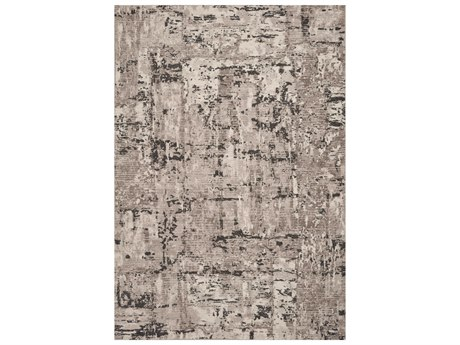 KAS Rugs Reflections Grey Rectangular Area Rug