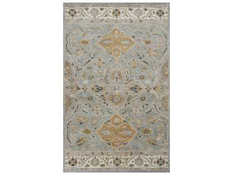 KAS Rugs Samara Slate Grey Rectangular Area Rug KG3601
