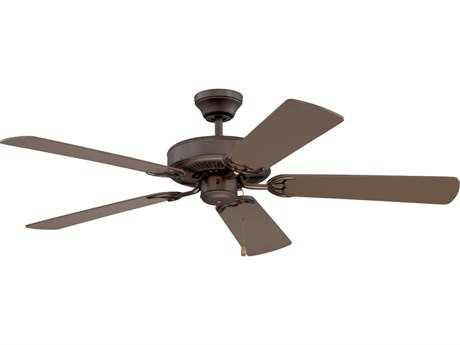 Kendal Lighting Builder Choice Oil Rubbed Bronze 52'' Wide Ceiling Fan