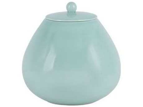 Legend of Asia Turquoise Blue Austen Pot With Lid LOA904999