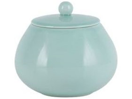 Legend of Asia Turquoise Blue Austen Pot With Lid LOA905000