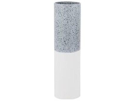 Legend of Asia Grey & White Medium Carter Vase