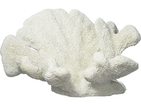 Legend of Asia White Large Catspaw Coral Sculpture