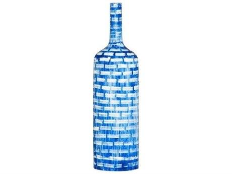 Legend of Asia Cobalt Blue Medium Brick Bottle