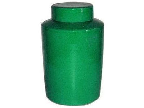 Legend of Asia Emerald Green Round Tea Jar