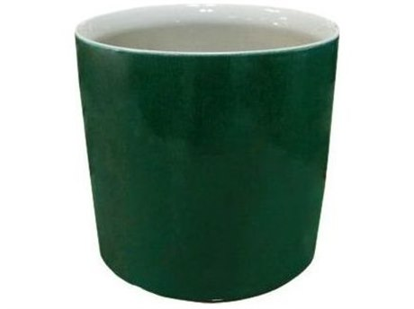 Legend of Asia Emerald Green Emerald Porcelain Orchid Pot (Sold in 2)