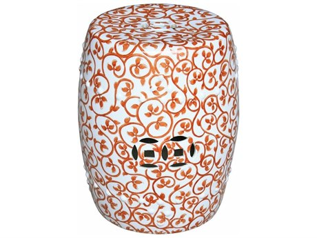 Legend of Asia Red Plum Garden Stool