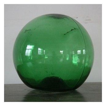 Legend of Asia Green Large Vintage Glass Float