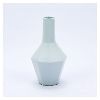 Legend of Asia White Small Hex Spindle Vase