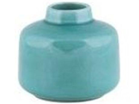 Legend of Asia Teal Medium Lewis Vase
