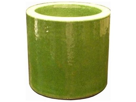 Legend of Asia Lime Green Small Orchid Pot (Sold in 2)
