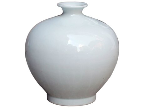 Legend of Asia White Pomegranate Porcelain Vase