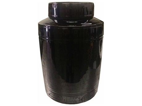 Legend of Asia Black Round Tea Jar