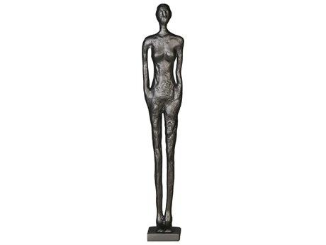 Legend of Asia Black Medium Standing Figure Sculpture