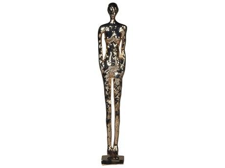 Legend of Asia Rose Gold Medium Standing Figure Sculpture