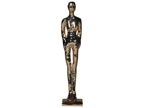 Legend of Asia Rose Gold Small Standing Figure Sculpture