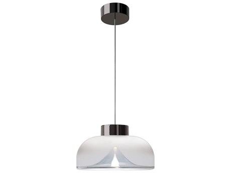 Leucos Aella 9'' Wide Glass LED Mini Pendants