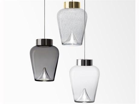 Leucos Aella 6'' Wide Glass LED Mini Pendants LEU0009THINSPENDANT