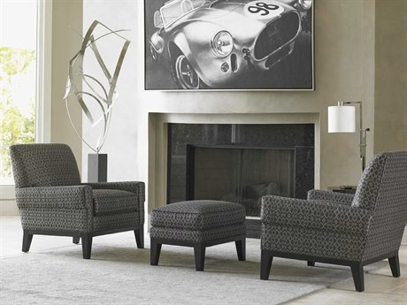 Lexington Carrera Chair and Ottoman Set