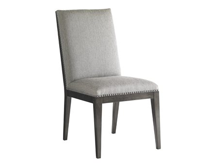 Lexington Carrera Carbon Gray Side Dining Chair LX911880