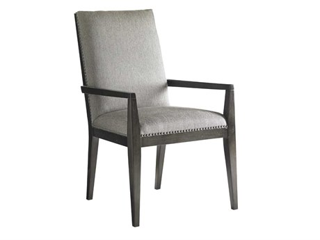 Lexington Carrera Carbon Gray Arm Dining Chair