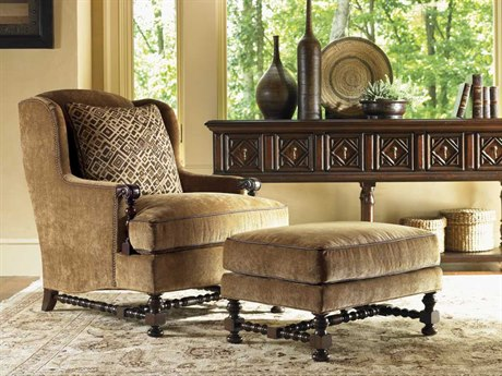 Lexington Fieldale Lodge Chair and Ottoman Set LX153811SET2